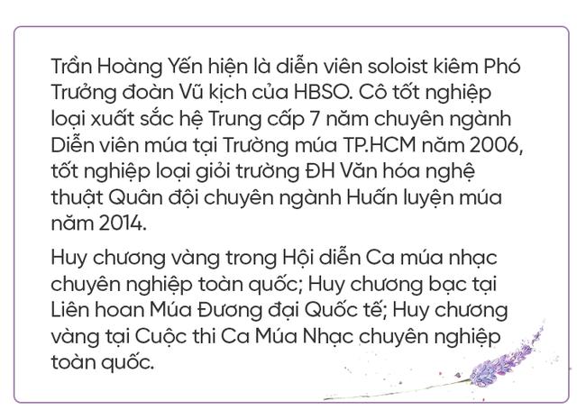 """Nghệ sĩ múa Trần Hoàng Yến: """"Chuyện được múa với Yến quan trọng hơn mọi cơn đau mà cơ thể chịu"""" - Ảnh 1."""
