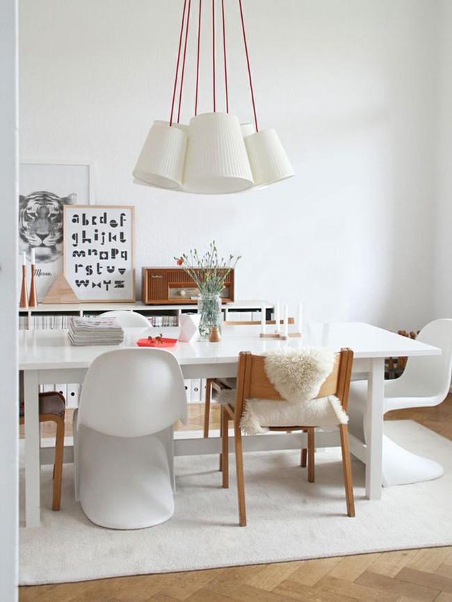 Gợi ý chọn thảm giúp phòng ăn đẹp và ấm cúng - Ảnh 8.