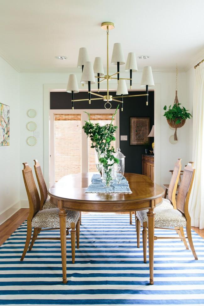 Gợi ý chọn thảm giúp phòng ăn đẹp và ấm cúng - Ảnh 3.