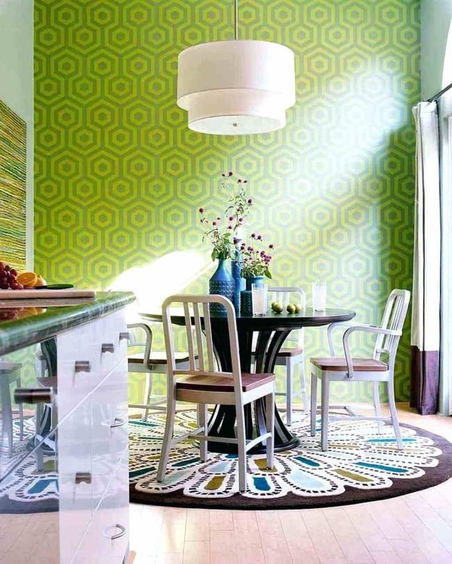 Gợi ý chọn thảm giúp phòng ăn đẹp và ấm cúng - Ảnh 7.