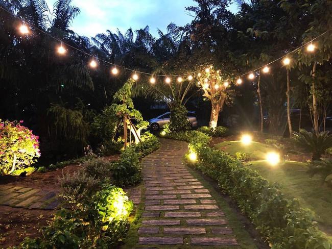 Nhà vườn đẹp như châu Âu rộng 500m² ở Long An của ca sĩ Cao Thái Sơn - Ảnh 14.