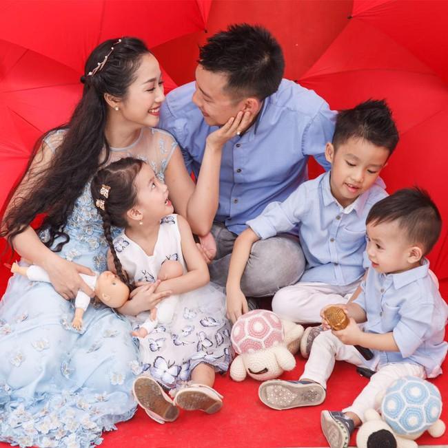 Vườn rau xanh tươi mơn mởn trong biệt thự tiền tỷ do chồng Ốc Thanh Vân trồng tặng 4 mẹ con - Ảnh 1.