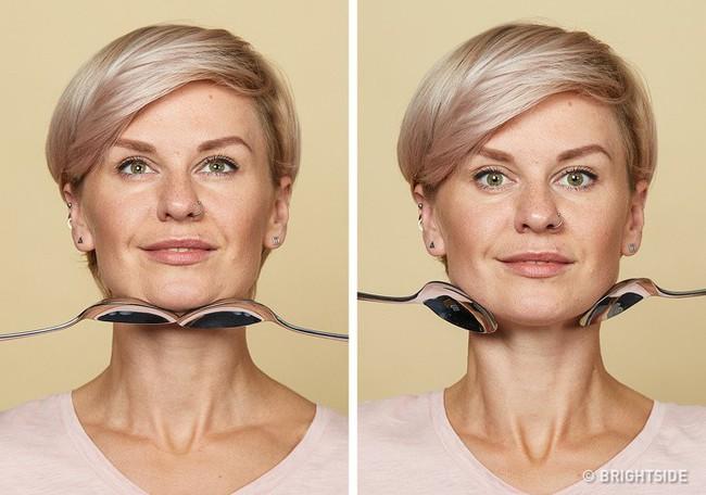 Massage chống lão hóa kiểu châu Á: Chỉ dùng thìa mà sau 2 tuần đã có da mặt căng mọng, khỏe mạnh không nếp nhăn - Ảnh 9.