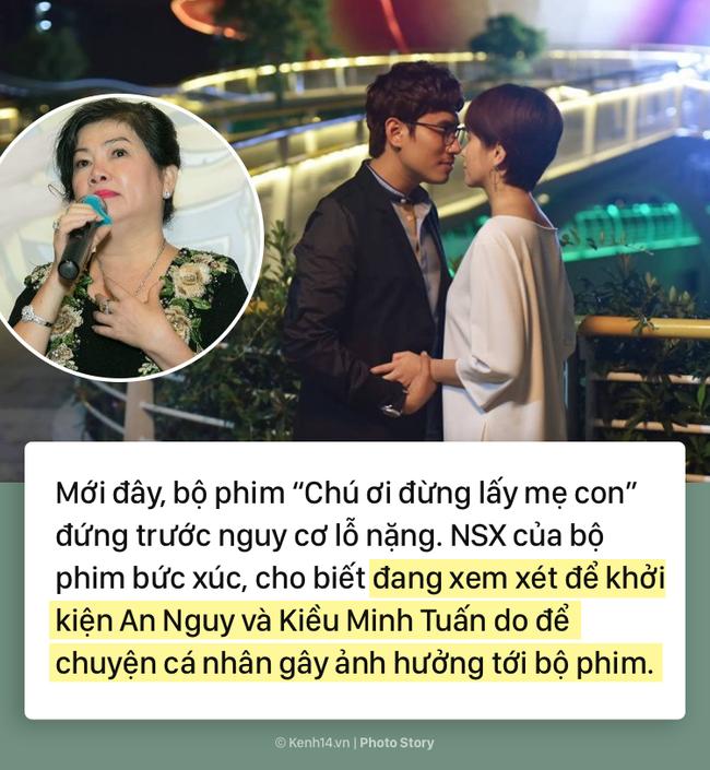 Từ scandal tình cảm đến việc bị NSX dọa kiện cáo, drama của An Nguy - Kiều Minh Tuấn vẫn chưa có dấu hiệu dừng lại - Ảnh 1.