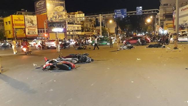 Hai nạn nhân bị nữ tài xế xe BMW tông trúng tại Hàng Xanh nguy kịch, hôn mê sâu - Ảnh 7.