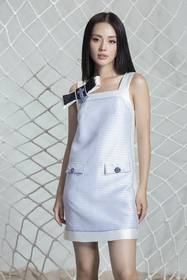 Khánh Linh The Face lại khoe váy áo sang chảnh sau khi được lên tạp chí nước ngoài vì mặc đẹp - Ảnh 11.