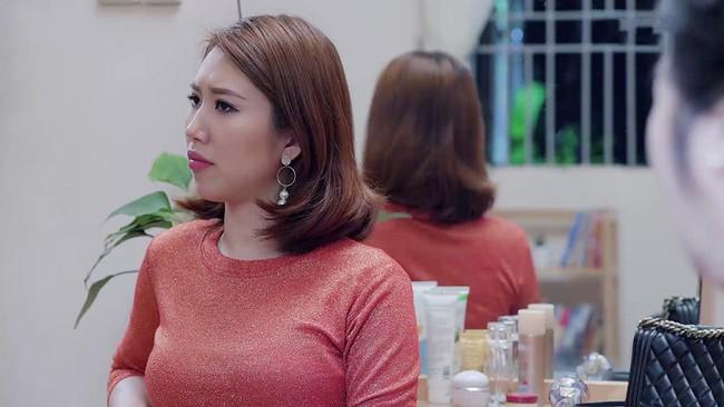 Gạo nếp gạo tẻ: Bà Mai cũng choáng vì Hân mất sạch tự trọng, bắt Kiệt trả tiền nuôi con còn mình đi ngoại tình - Ảnh 6.
