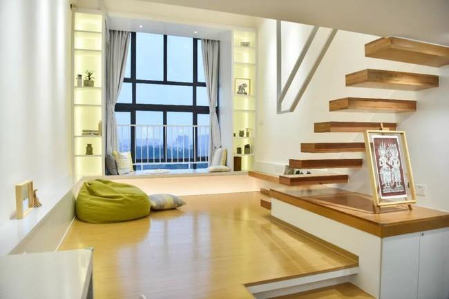 Căn hộ 52m² đẹp ấn tượng với cách bố trí nội thất giật cấp của vợ chồng trẻ - Ảnh 9.