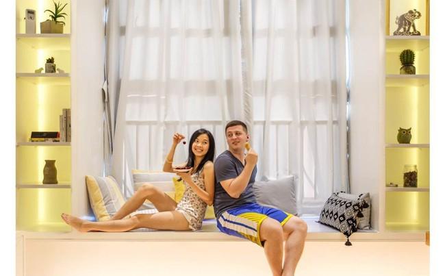 Căn hộ 52m² đẹp ấn tượng với cách bố trí nội thất giật cấp của vợ chồng trẻ - Ảnh 10.