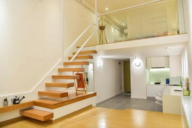 Căn hộ 52m² đẹp ấn tượng với cách bố trí nội thất giật cấp của vợ chồng trẻ - Ảnh 5.