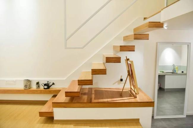 Căn hộ 52m² đẹp ấn tượng với cách bố trí nội thất giật cấp của vợ chồng trẻ - Ảnh 11.