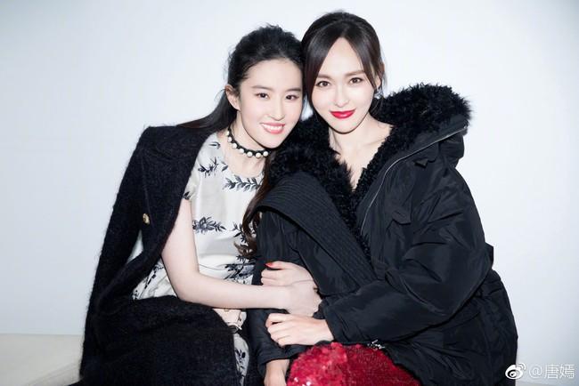 Lưu Diệc Phi chúc mừng Đường Yên – La Tấn, nuối tiếc vì không thể dự đám cưới - Ảnh 2.