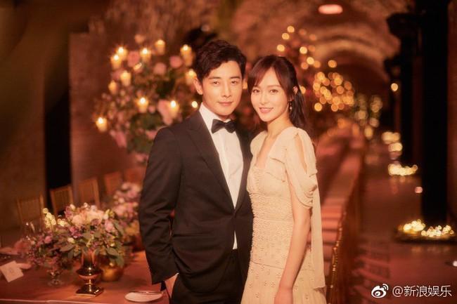 Đường Yên - La Tấn xuất hiện trong khung cảnh đẹp như mơ của tiệc tiền đám cưới - Ảnh 7.