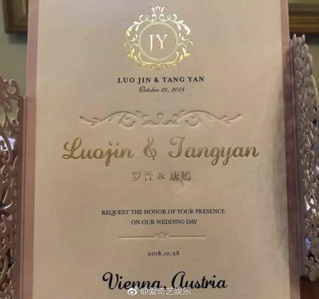 Đường Yên - La Tấn không cho khách mời sử dụng điện thoại, quyết giữ bí mật cho hôn lễ - Ảnh 4.