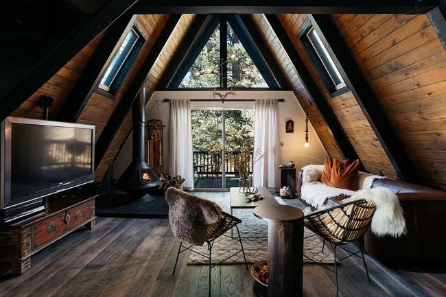 7 ngôi nhà nhỏ được cải tạo có thiết kế nội thất hiện đại khác xa với cảnh quan bên ngoài - Ảnh 12.