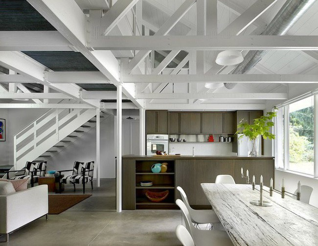 7 ngôi nhà nhỏ được cải tạo có thiết kế nội thất hiện đại khác xa với cảnh quan bên ngoài - Ảnh 21.