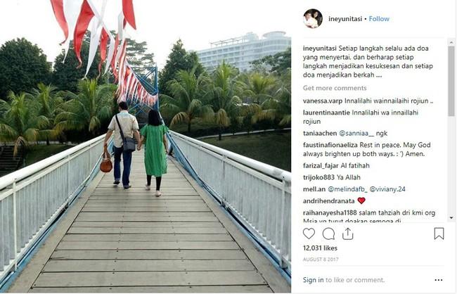Bức hình ám ảnh trong tai nạn máy bay rơi ở Indonesia: Đôi vợ chồng nắm tay nhau đi đến thiên đường - Ảnh 2.