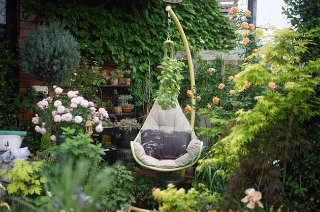 Bà mẹ đơn thân cùng con gái 5 tuổi dành trọn hai năm để biến sân thượng thành khu vườn đẹp như cổ tích - Ảnh 3.