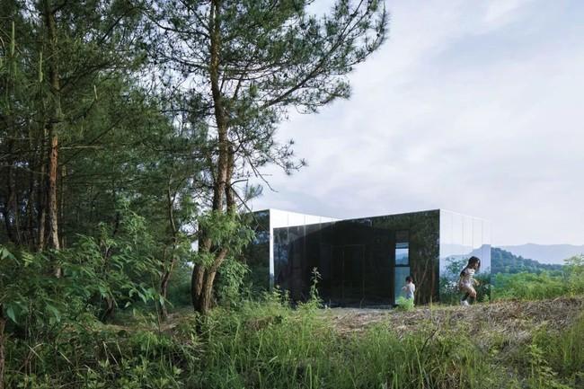 Ngôi nhà trong suốt ngập tràn hạnh phúc của gia đình trẻ bên phong cảnh non nước hữu tình - Ảnh 6.