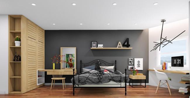 Gợi ý 7 phong cách thiết kế phòng ngủ đẹp cho vợ chồng mới cưới - Ảnh 10.