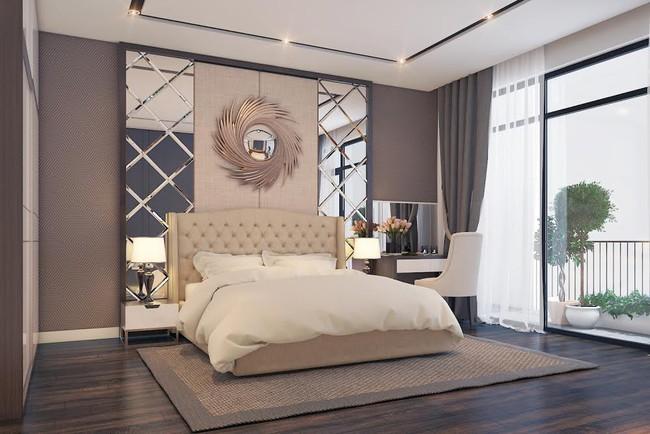 Gợi ý 7 phong cách thiết kế phòng ngủ đẹp cho vợ chồng mới cưới - Ảnh 11.