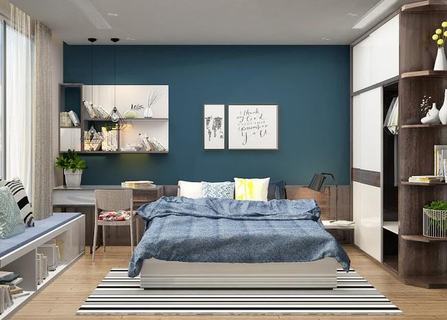 Gợi ý 7 phong cách thiết kế phòng ngủ đẹp cho vợ chồng mới cưới - Ảnh 3.