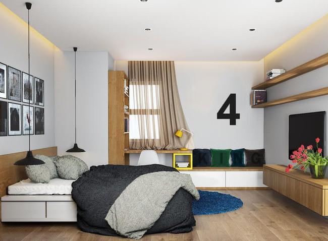 Gợi ý 7 phong cách thiết kế phòng ngủ đẹp cho vợ chồng mới cưới - Ảnh 7.