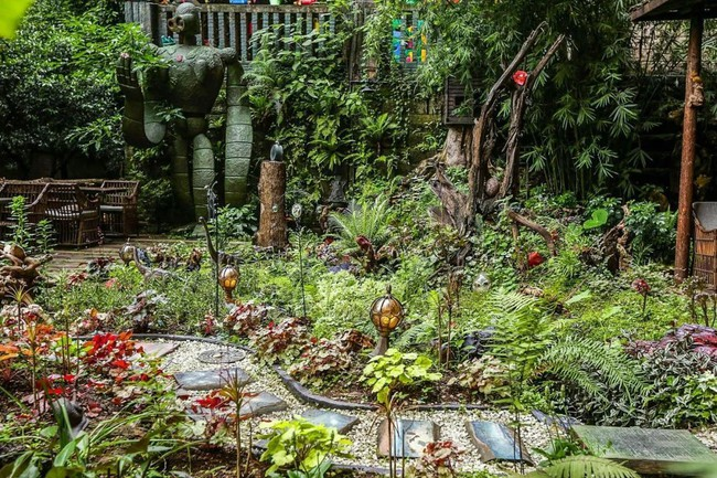 Người con hiếu thuận dành dụm tiền để thiết kế khu vườn thật đẹp tặng cha - Ảnh 8.
