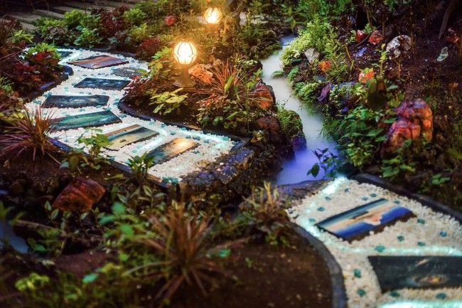 Người con hiếu thuận dành dụm tiền để thiết kế khu vườn thật đẹp tặng cha - Ảnh 4.