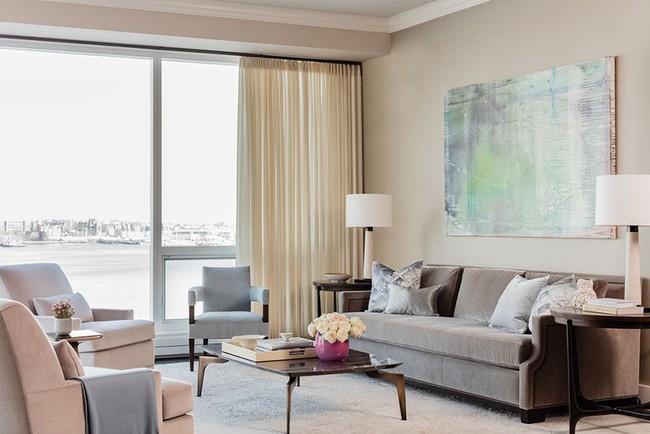 Cho phòng khách vẻ đẹp mơ màng để đón thu sang với gam màu pastel  - Ảnh 10.