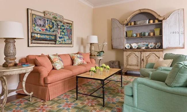 Cho phòng khách vẻ đẹp mơ màng để đón thu sang với gam màu pastel  - Ảnh 12.