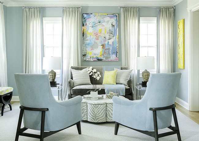 Cho phòng khách vẻ đẹp mơ màng để đón thu sang với gam màu pastel  - Ảnh 14.
