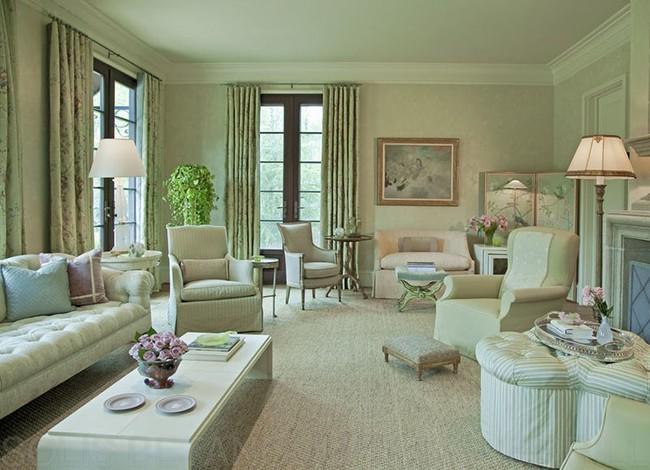 Cho phòng khách vẻ đẹp mơ màng để đón thu sang với gam màu pastel  - Ảnh 2.