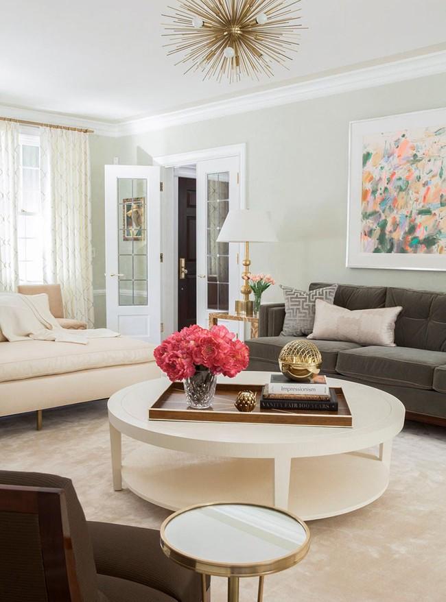 Cho phòng khách vẻ đẹp mơ màng để đón thu sang với gam màu pastel  - Ảnh 3.