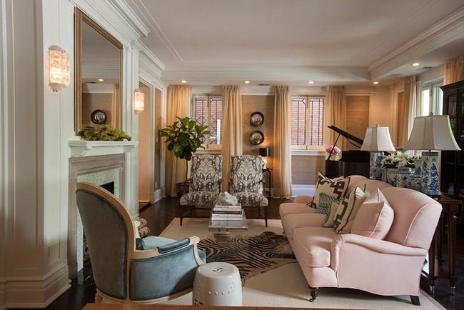 Cho phòng khách vẻ đẹp mơ màng để đón thu sang với gam màu pastel  - Ảnh 6.
