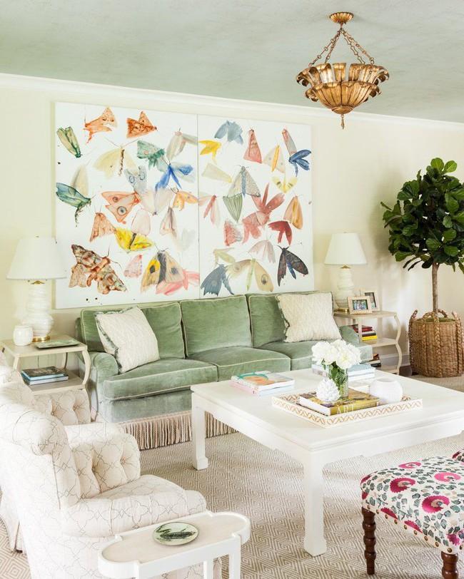 Cho phòng khách vẻ đẹp mơ màng để đón thu sang với gam màu pastel  - Ảnh 7.
