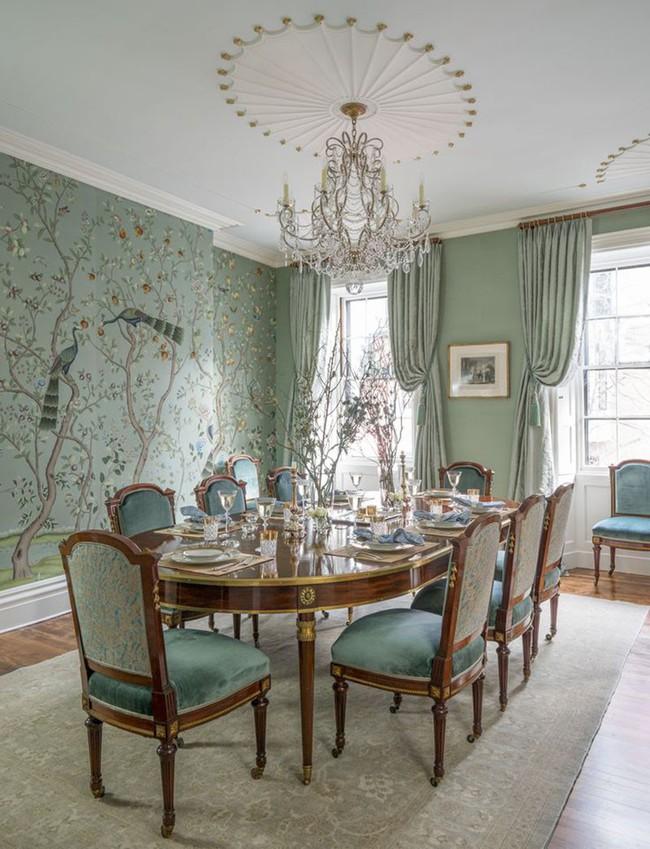 Khi muốn căn nhà nhỏ luôn ngập tràn sức sống thì đừng quên giấy dán tường họa tiết hoa lá - Ảnh 11.