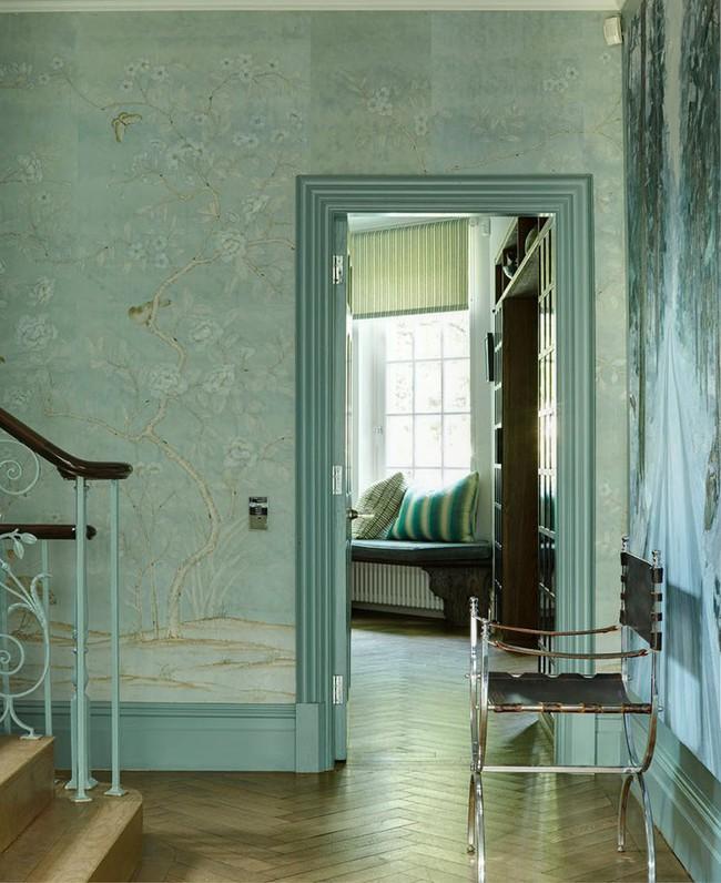 Khi muốn căn nhà nhỏ luôn ngập tràn sức sống thì đừng quên giấy dán tường họa tiết hoa lá - Ảnh 12.