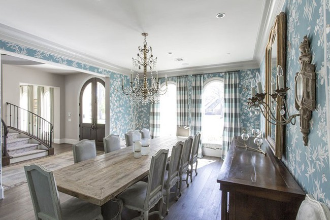 Khi muốn căn nhà nhỏ luôn ngập tràn sức sống thì đừng quên giấy dán tường họa tiết hoa lá - Ảnh 2.