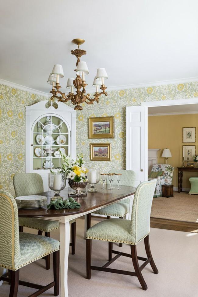 Khi muốn căn nhà nhỏ luôn ngập tràn sức sống thì đừng quên giấy dán tường họa tiết hoa lá - Ảnh 18.