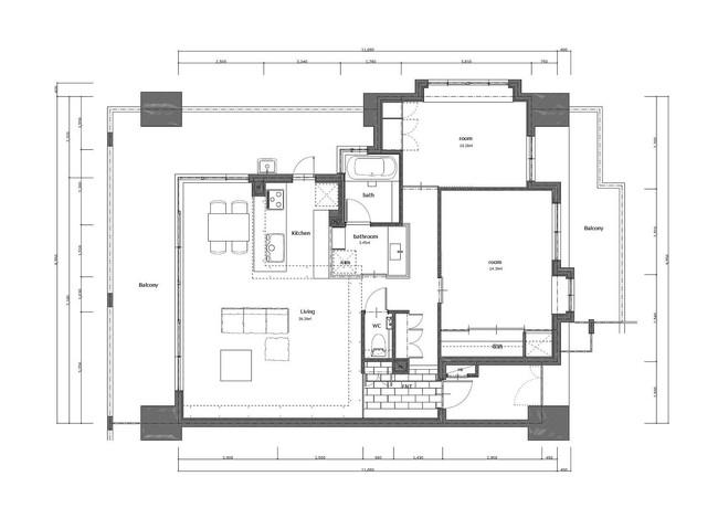 Căn hộ 85m² dưới đây là đại diện điển hình cho cuộc sống của tầng lớp trẻ ở Nhật Bản - Ảnh 16.