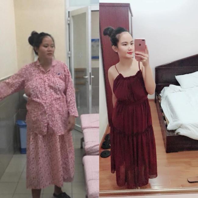 Trầm cảm sau sinh vì béo, gặp ai cũng bị chê, mẹ 9X quyết tâm lột xác đẹp hơn thời con gái - Ảnh 1.