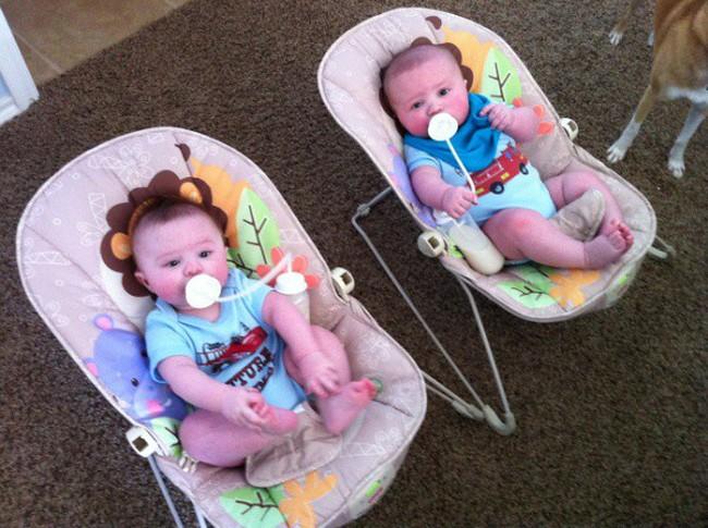 10 mẹo nhỏ giúp bố mẹ cho bé bú bình nhàn nhã hơn mà chẳng sách vở nào dạy - Ảnh 5.
