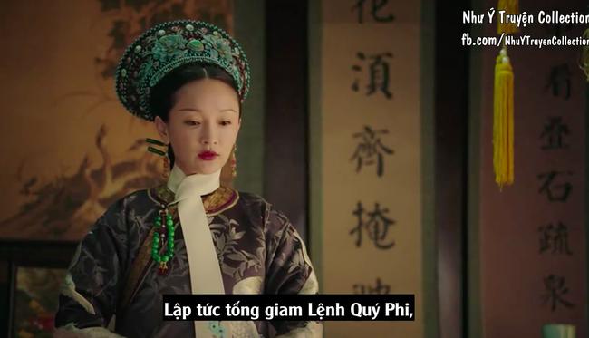 Đỉnh cao của diễn xuất: Chỉ với 1 ánh mắt khi ban chết cho Lệnh Phi - Lý Thuần, Châu Tấn đã làm fan náo loạn  - Ảnh 3.