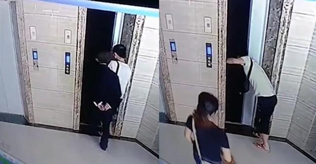 Sốt ruột cạy cửa thang máy vì chờ lâu quá, con rể khiến bố vợ bước vào rồi ngã chết - Ảnh 1.