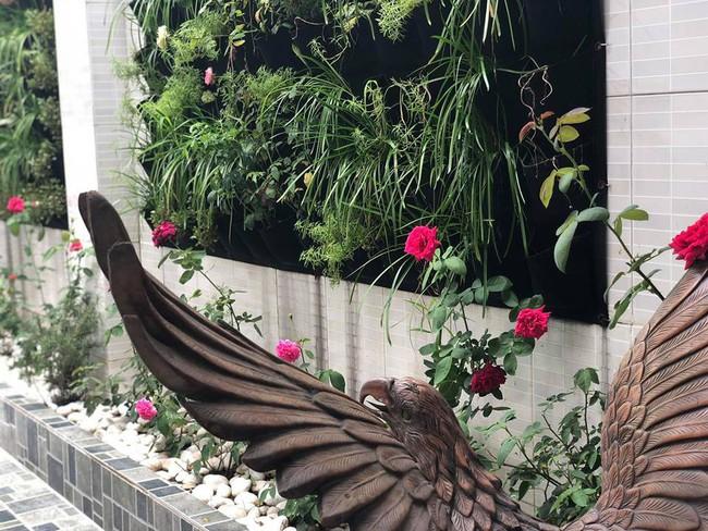 Ngắm vườn rau sạch và hoa tươi vô cùng bình yên của vợ chồng nghệ sĩ Hồng Vân và Lê Tuấn Anh - Ảnh 20.