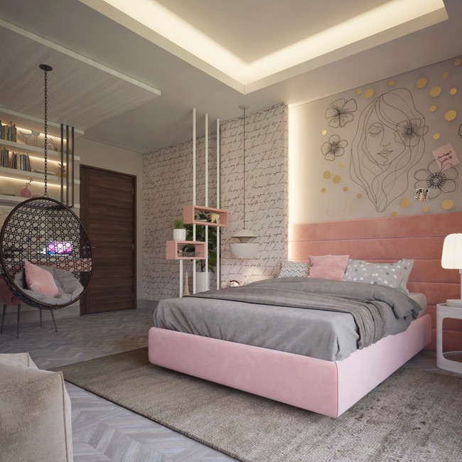 25 cách trang trí phòng ngủ đẹp miễn chê, không thử một lần đúng là phí hoài tuổi trẻ! - Ảnh 13.