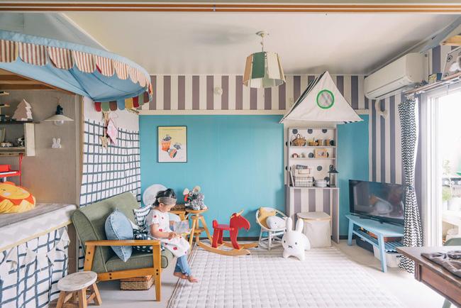 Căn hộ tràn ngập sắc màu hạnh phúc, góc nào cũng vô cùng đặc biệt của bà mẹ đơn thân với 2 con nhỏ ở Tokyo, Nhật Bản - Ảnh 2.