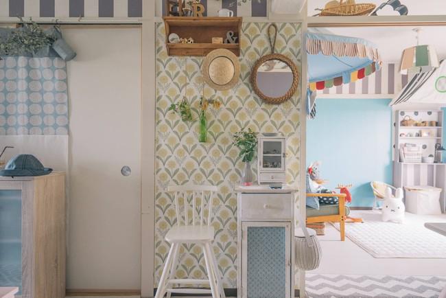 Căn hộ tràn ngập sắc màu hạnh phúc, góc nào cũng vô cùng đặc biệt của bà mẹ đơn thân với 2 con nhỏ ở Tokyo, Nhật Bản - Ảnh 3.