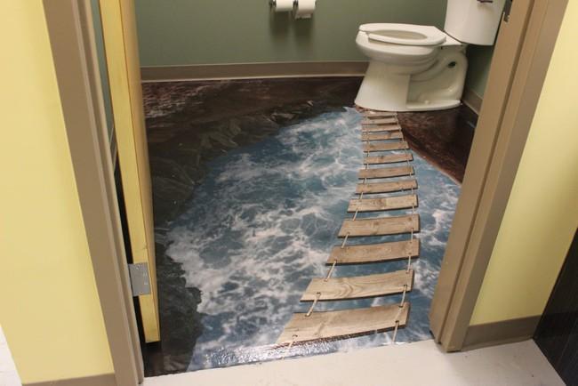 Với kiểu sàn nhà này, ngôi nhà bạn sẽ trở thành một bức tranh sinh động đến khó tin - Ảnh 1.